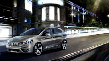 Combines comfort and functionality with dynamic performance and style: the BMW Concept Active Tourer. <br />