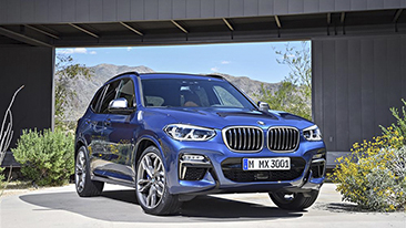 The All-New 2018 BMW X3.