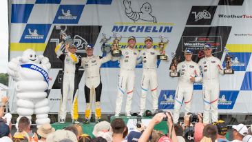 BMW Team RLL Delivers First BMW M8 GTE Victory in Double Podium Performance in Michelin GT Challenge at VIR.