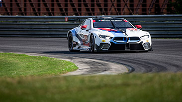 BMW Team RLL Finishes Seventh and Eighth at Lime Rock Park;