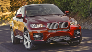 <p>The 2011 BMW X6 Sports Activity Coupe</p>