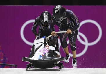 BMW congratulates the U.S. men and women's two-man bobsled teams for their historic performance at the Sochi 2014 Olympic Winter Games