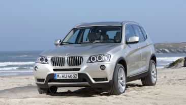 BMW X3 Rated Top Safety Pick by IIHS<br />