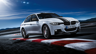 New BMW M Performance Parts for the new BMW 3 and 5 Series Sedans<br />