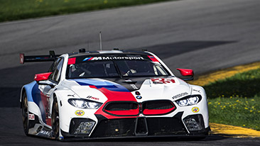 BMW Team RLL Uses Home Field Advantage to Score First and Third Starting Positions at Mid-Ohio.