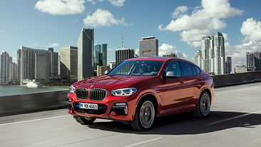 BMW X4 M40i M Performance to make North American debut at 2018 New York International Auto Show.