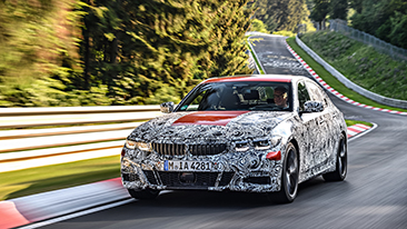 "The All-New BMW 3 Series Sedan: Test and Trial at the ""Green Hell"""