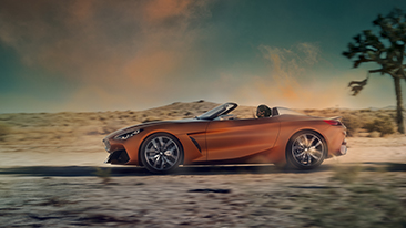 The BMW Concept Z4.