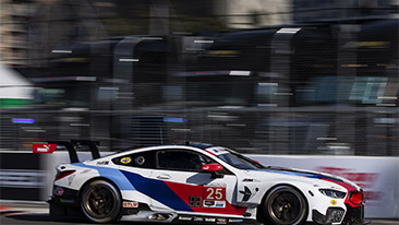BMW Team RLL Qualifies Seventh and Eighth For IMSA Long Beach Grand Prix; Blomqvist P7, Edwards P8.