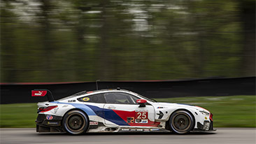 BMW Team RLL Qualifies Third and Sixth at Mid-Ohio. Krohn - P3, DePhillippi - P6