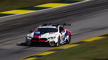 BMW M8 GTE Scores GTLM Pole for Motul Petit Le Mans! Edwards - P1, De Phillippi - P7.