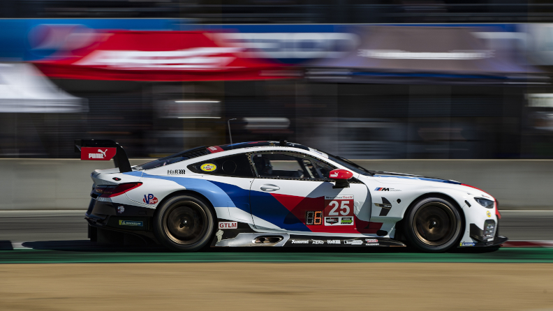 BMW Team RLL Carrying Two-Win Streak to Petit Le Mans; Bill Auberlen Returns, Chaz Mostert Added to Driver Lineup.