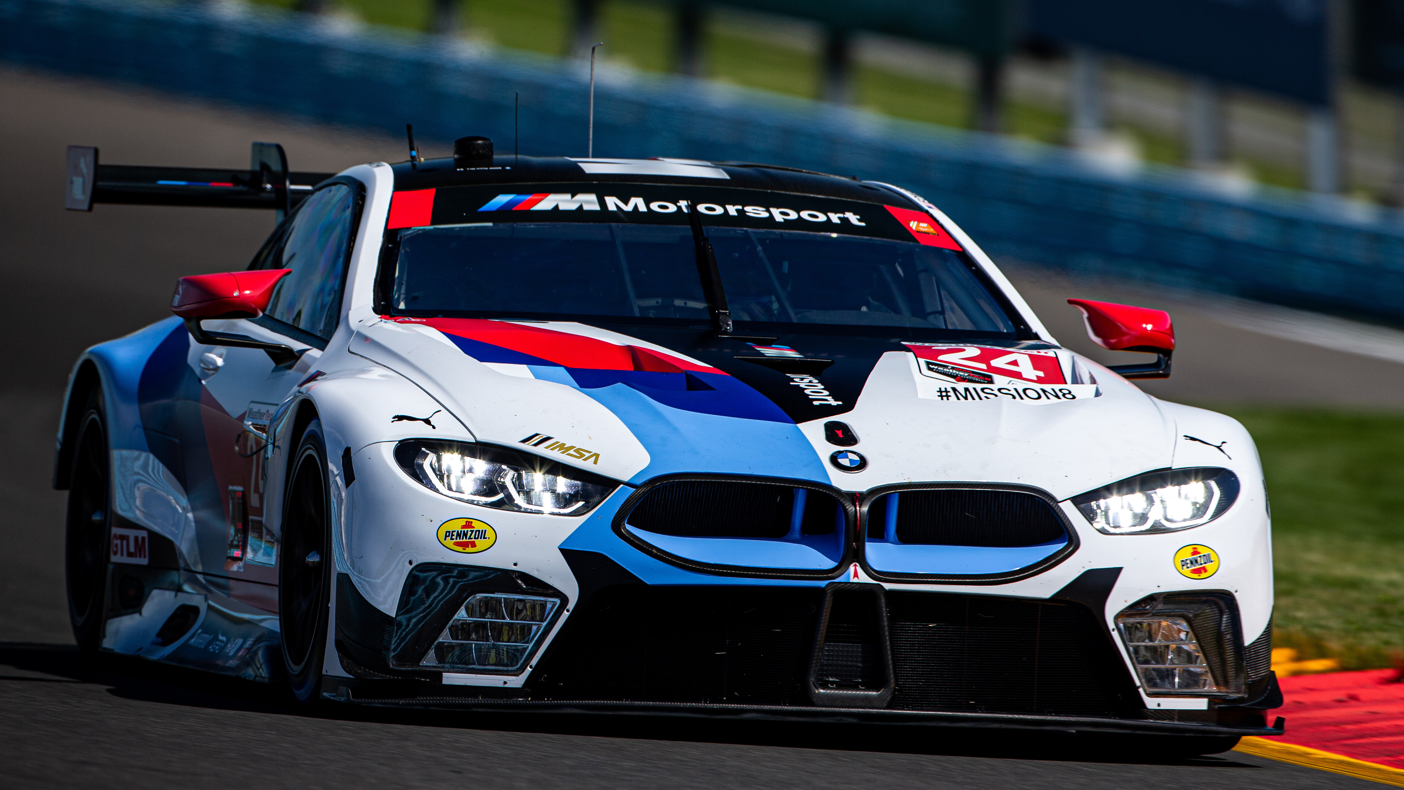 BMW Team RLL Finishes P5 and P7 at Watkins Glen. No. 25 M8 GTE Damaged in Refueling Fire. CTMP in Seven Days. No Sleep Till Bowmanville!