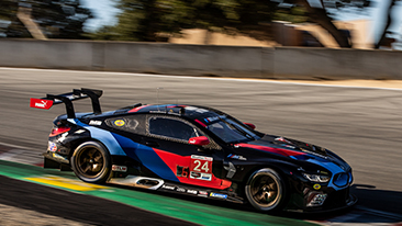 BMW Team RLL Qualifies First and Third at WeatherTech Raceway Laguna Seca; Krohn - Pole, Blomqvist - P3.