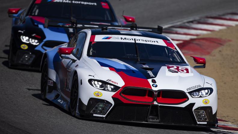 BMW Team RLL Qualifies Fifth and Eighth at WeatherTech Raceway Laguna Seca; Alexander Sims - P5, Jesse Krohn - P8.