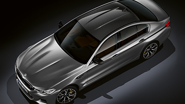 The All-New 2019 BMW M5 Competition Sedan.