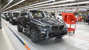 Homecoming: BMW Plant Spartanburg making final preparations to begin production of all-new BMW X5.