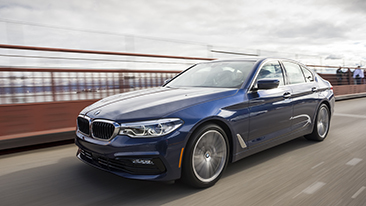 "2017 BMW 5 Series Earns IIHS ""Top Safety Pick +""."