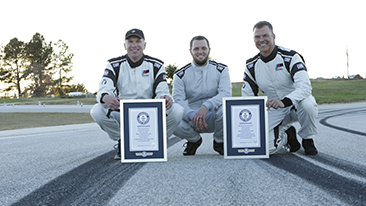 BMW Sets Two GUINNESS WORLD RECORDS™ Titles for Drifting in the All-New 2018 BMW M5.
