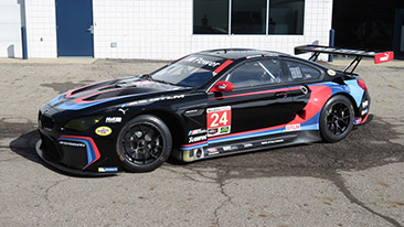 BMW Team RLL Still in Title Hunt at Mazda Raceway Laguna Seca; No. 24 BMW M6 Back in Black.