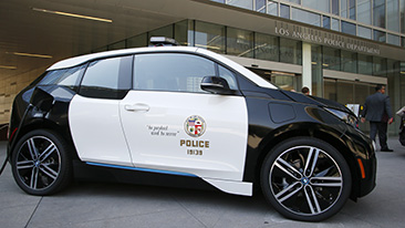BMW of North America Wins Bid to Supply the Los Angeles Police Department with 100 BMW i3 Electric Vehicles