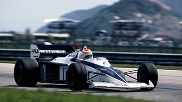 Legends Parade at the Austrian Grand Prix: BMW Group Classic brings the Brabham BMW BT52 back to the race track.