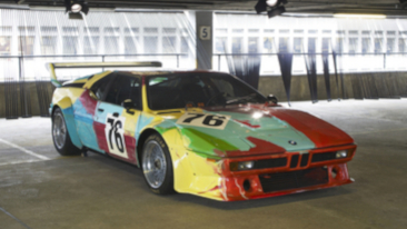 BMW to Showcase 1979 Andy Warhol M1 Art Car at ARTcetera 2013 in Boston.<br />