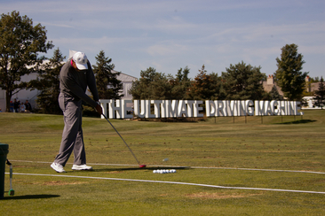 PGA Golfer Rory McIlroy Challenged Gary Woodland in Driving Event To Kick Off BMW Championship Week.<br />