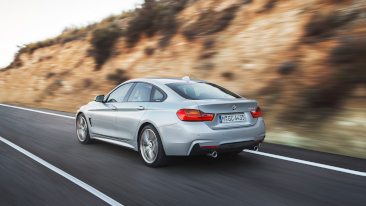 The New BMW 4 Series Gran Coupe<br />