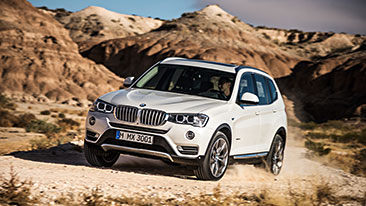 The New BMW X3 Sports Activity Vehicle®