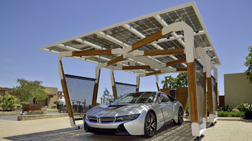 BMW i Home Charging Services unveiled at the CES Consumer Electronics Show in Las Vegas
