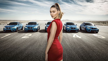 """Eyes on Gigi"". BMW presents interactive campaign for new BMW M2 Coupé"