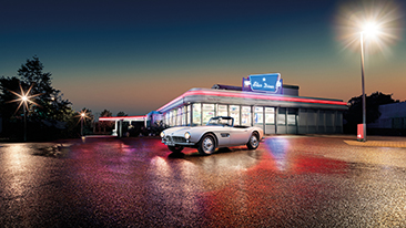 Elvis' BMW 507 lives on: Comeback at the Concours d'Elegance in Pebble Beach.