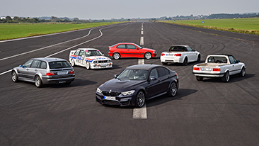 30 years of the BMW M3 – the story behind the legend.
