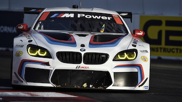 BMW Team RLL Finish 4th and 7th in BUBBA burger SportsCar Grand Prix At Long Beach.