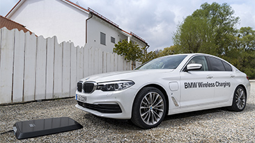 BMW Expands 530e Sedan Inductive Charging Pilot Program to U.S.