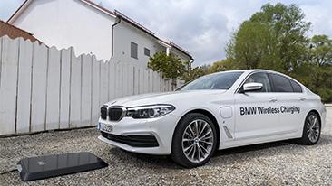 BMW Expands 530e Sedan Inductive Charging Pilot Program to U.S.