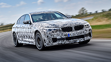 The new BMW M5 with M xDrive.