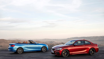 BMW Announces the new 2018 BMW 2 Series Coupe and Convertible.
