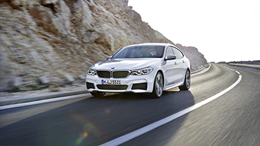 The All-New 2018 BMW 6 Series Gran Turismo.