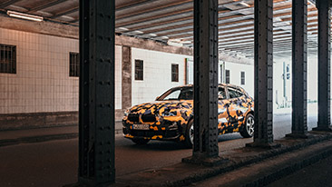 Expedition into the urban jungle for the new BMW X2.