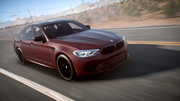BMW and EA Debut the All-new BMW M5 in Need for SpeedTM Payback