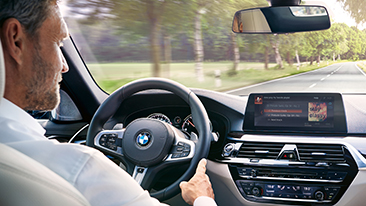 Digital lifestyle at the BMW Group: Seamless in-car integration of Amazon Alexa.