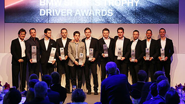 BMW Motorsport honours the top drivers and teams in the BMW Sports Trophy at the Season Review in Munich.