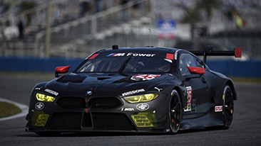 "Green light for the new spearhead: BMW M8 GTE makes race debut at the ""Rolex 24"" in Daytona."