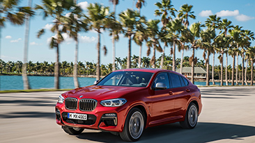 The All-New 2019 BMW X4. The eye-catching athlete.