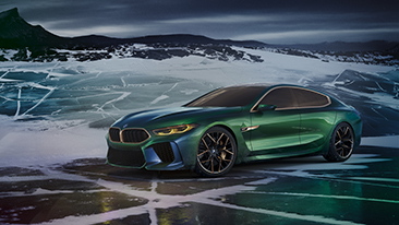 The BMW Concept M8 Gran Coupe Showcases a New Interpretation of Luxury for the BMW Brand.