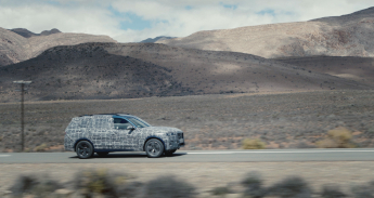 The New BMW X7 Undergoes Endurance Tests Under Extreme Conditions.