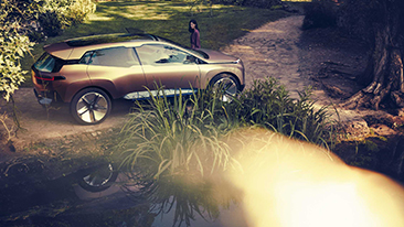 The BMW Vision iNEXT. Future Focused.
