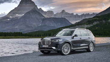 The First-Ever 2019 BMW X7 Sports Activity Vehicle.